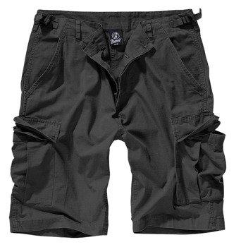spodnie bojówki krótkie BDU RIPSTOP SHORTS - BLACK