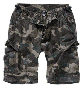 spodnie bojówki krótkie BDU RIPSTOP SHORTS - DARKCAMO