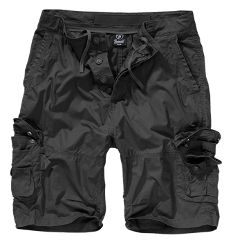 spodnie bojówki krótkie TY SHORTS - BLACK