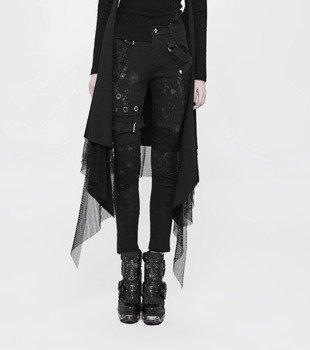 spodnie damskie PUNK RAVE - GOTHIC