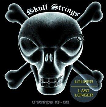 struny do gitary elektrycznej 8-strunowej Skull Strings XTREME Line 8S /010-068/