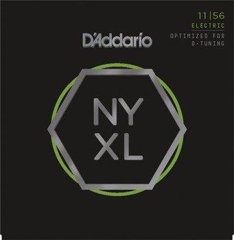 struny do gitary elektrycznej D'ADDARIO NYXL1156 D-tunning /011-056/