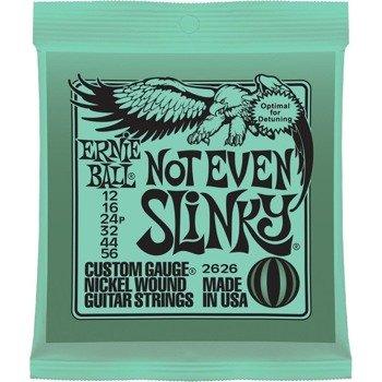 struny do gitary elektrycznej ERNIE BALL Slinky Not Even EB2626 /012-056/