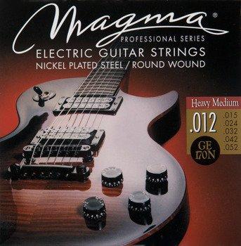 struny do gitary elektrycznej MAGMA GE170N Professional - Nickel / Heavy Medium /012-052/