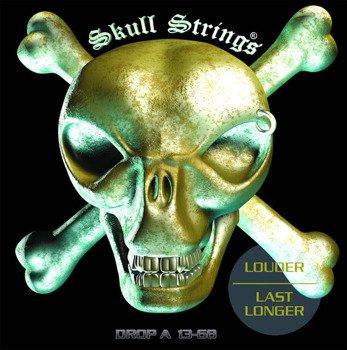 struny do gitary elektrycznej Skull Strings DROP-A Line /013-068/