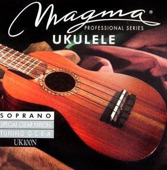 struny do ukulele sporanowego MAGMA SOPRANO Clear Nylon