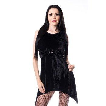 sukienka HEARTLESS - EMILIA, VELVET