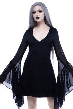 sukienka KILL STAR - BLACK VEIL