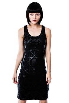 sukienka KILL STAR - CULT BLACK