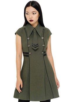 sukienka KILLSTAR - BLACK-OPS (KHAKI)