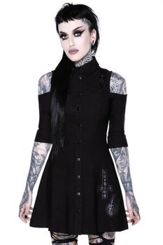 sukienka KILLSTAR - PARANORMAL (BLACK)