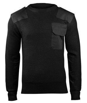 sweter WOJSKOWY BW PULLOVER BLACK
