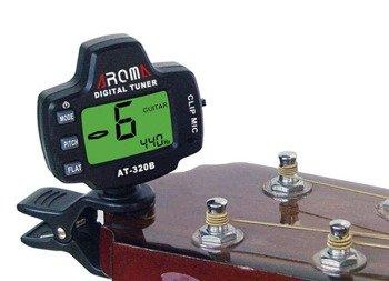 tuner AROMA AT-320B uniwersalny, na klips
