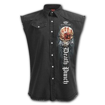 workshirt FIVE FINGER DEATH PUNCH - GAME OVER bez rękawów