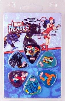 zestaw kostek MARVEL HEROES (6 szt.)