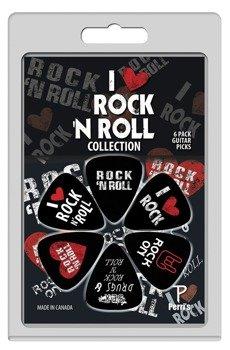 zestaw kostek PERRI'S - I LOVE ROCK 'N ROLL (6 szt)