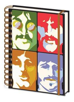 zeszyt THE BEATLES - YELLOW SUBMARINE -  FACES