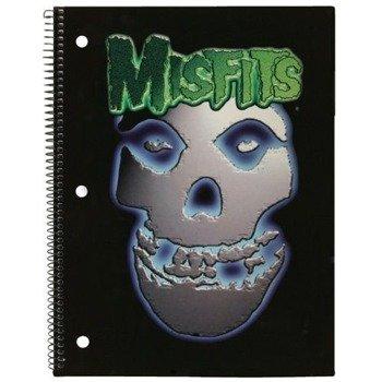 zeszyt/notes MISFITS - METAL FIEND gruba linia
