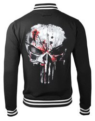 bluza/kurtka THE PUNISHER - SKULL rozpinana