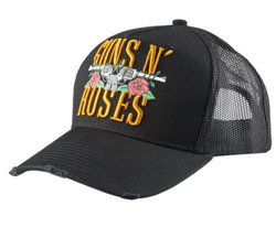 czapka GUNS N' ROSES - STACKER LOGO TRUCKER