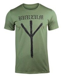 koszulka BURZUM - RUNE (GREEN)