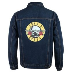 kurtka GUNS N'ROSES - CLASSIC LOGO DENIM JACKET