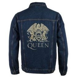kurtka QUEEN - CLASSIC CREST DENIM JACKET