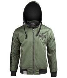 kurtka WEST COAST CHOPPERS - BLOCK JACKET MILITARY GREEN