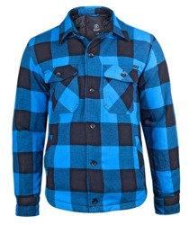 kurtka/koszula LUMBERJACKET black/blue