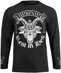 longsleeve AMENOMEN - REST IN HELL (OMEN122LO)
