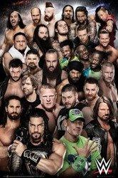 plakat WWE - SUPERSTARS  2018