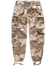 spodnie bojówki AIRBORNE VINTAGE TROUSERS 3 - COLOR-DESERT