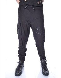 spodnie dresowe HEARTLESS - NERO