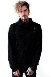sweter KILL STAR - SEVEN (BLACK)
