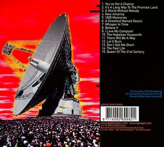 BAD RELIGION: THE NEW AMERICA (CD)