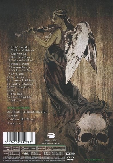 BLACK LABEL SOCIETY: UNBLACKENED (DVD)