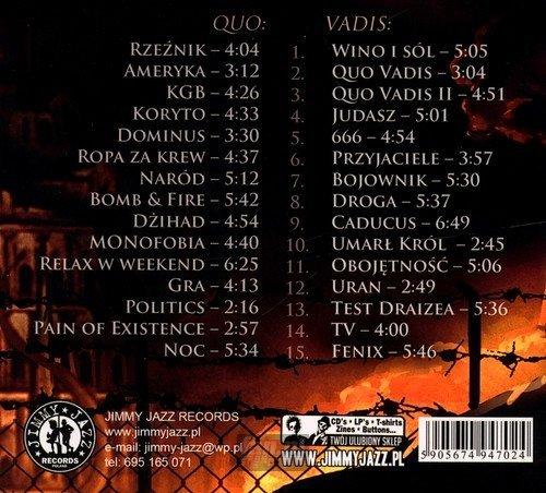 QUO VADIS: XXX (2CD)