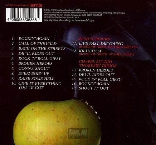 SAXON: INNOCENCE IS NO EXCUSE (CD)