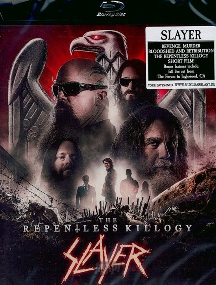 SLAYER: REPENTLESS KILLOGY  (DVD)