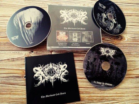 XASTHUR: THE MORIBUND CULT YEARS (CD)