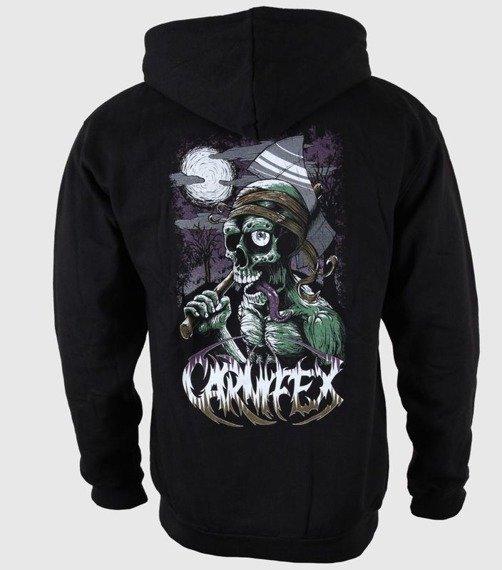 bluza CARNIFEX - WICKED AXE rozpinana, z kapturem