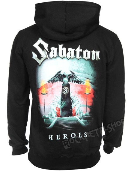 bluza SABATON - HEROES POLAND  rozpinana z kapturem