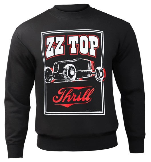 bluza ZZ TOP - THRILL, bez kaptura