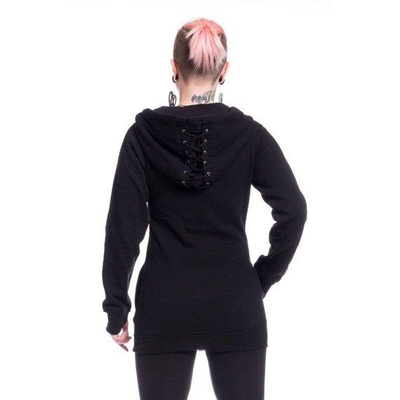 bluza damska VIXXSIN - REACT, rozpinana z kapturem