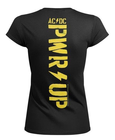 bluzka damska AC/DC - PWR SHOT IN THE DARK