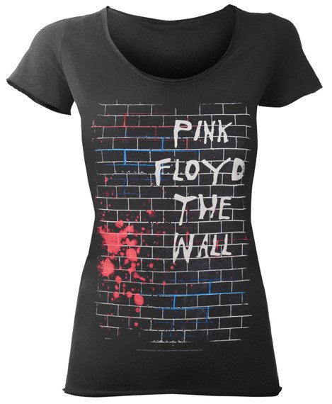 bluzka damska PINK FLOYD - THE WALL ciemnoszara