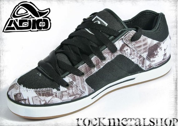 buty ADIO - KENNY ANDERSON LIMITED PROJECTS black-white-lotti