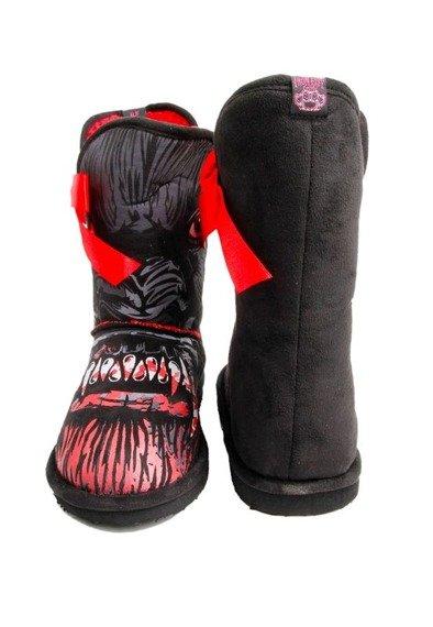 buty  IRON FIST - WOLFBEATER MEDIUM FUG BOT (BLACK/RED)