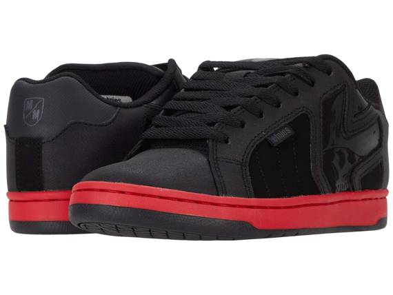 buty METAL MULISHA - ETNIES FADER 2 BLACK RED BLACK