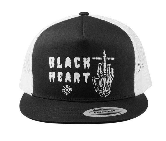 czapka BLACK HEART - FUCKER